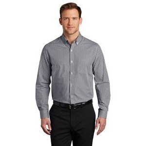 Port Authority® Broadcloth Gingham Easy Care Shirt