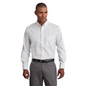 Port Authority® Tattersall Easy Care Long Sleeve Shirts