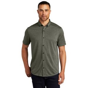 OGIO® Gravitate Full-Button Polo