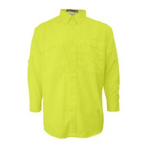 Men's Pescador Polyester Long Sleeve Fishing Shirt